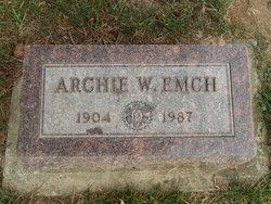 "Archibald W ""Archie"" Emch"