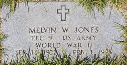 Melvin W Jones
