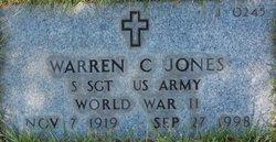 Warren C Jones