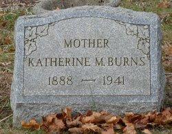Katherine M Burns