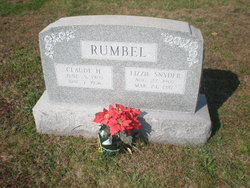 Lizzie <I>Snyder</I> Rumbel