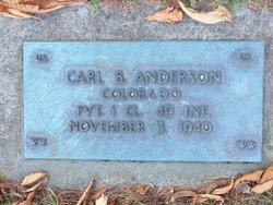 Carl B Anderson