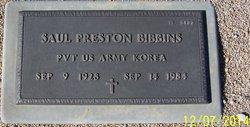 Saul Preston Bibbins