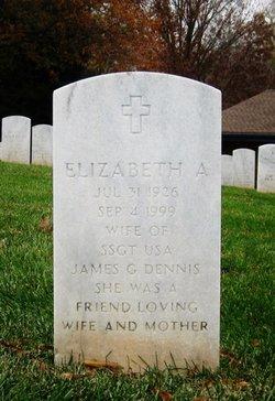 Elizabeth A Dennis