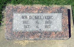 """William D. """"Bill"""" King"""