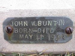 John W. Buntin