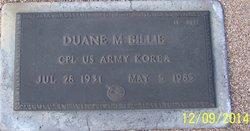 Duane M Billie