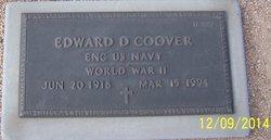 Edward D Coover