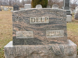 Theresa Ida <I>Miller</I> Delp