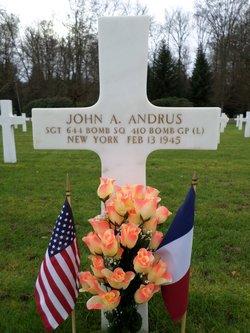 Sgt John A Andrus