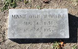 Minnie L. <I>Davis</I> McQuaine