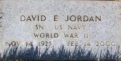 David E Jordan