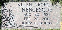 Allen Nicholas Nencescue