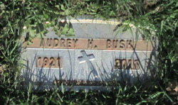 Audrey <I>Hagelstein</I> Bush