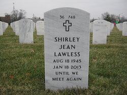 Shirley Jean <I>Kelly</I> Lawless