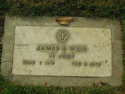 James Arthur Weir