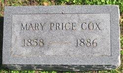 "Mary Lavenia ""Mollie"" <I>Price</I> Cox"