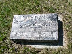 Edna Leona <I>Cox</I> Weston