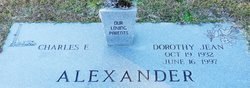 Dorothy Jean <I>Meadows</I> Alexander