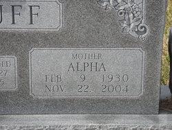 Alpha <I>Johnson</I> Acuff