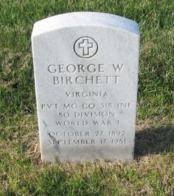 George W Birchett