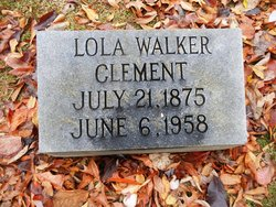 Lola Ann <I>Walker</I> Clement