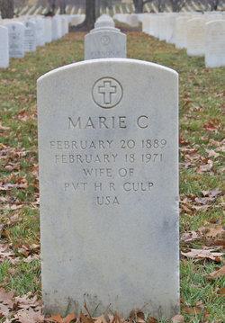 Marie C Culp
