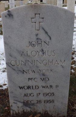 PFC John Aloysius Cunningham
