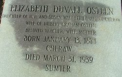 Elizabeth <I>Duvall</I> Osteen