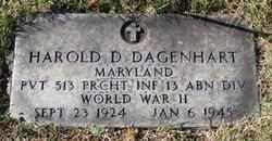 Harold D Dagenhart
