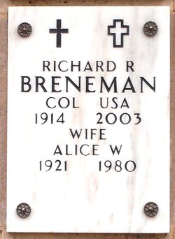 Richard R Breneman