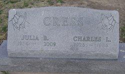 Julia Belle <I>Morlan</I> Cress