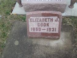 Elizabeth <I>Reger</I> Cook