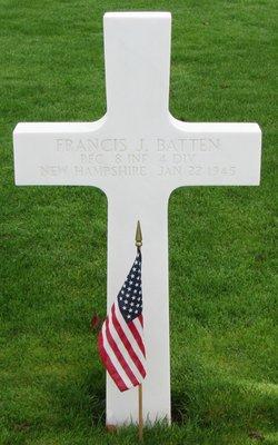 PFC Francis J Batten
