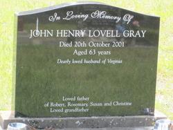 John Henry Lovell Gray