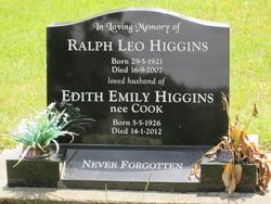 Edith Emily <I>Cook</I> Higgins