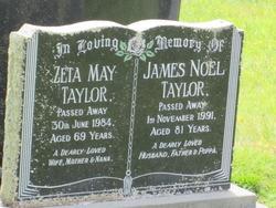 Zeta May <I>Homann</I> Taylor