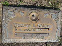 Thelma  L. Oliver