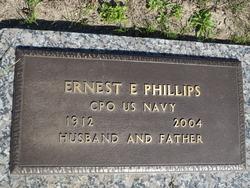Ernest  E Phillips