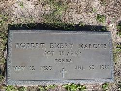 Robert Emery Marone