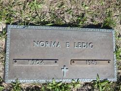Norma E. Ledig