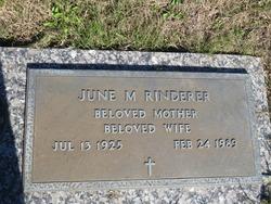 June M. Rinderer