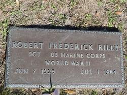 Robert Frederick Riley