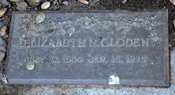 Elizabeth N Gloden