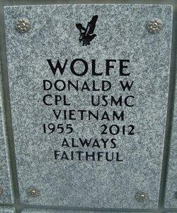 Donald W Wolfe