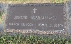 Jennie <I>Nyhoff</I> Abrahamse