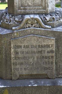 John Adlum Barber