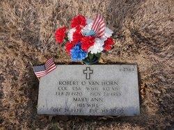 """Mary Ann """"Cushie"""" <I>Henderson</I> Van Horn"""