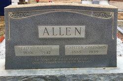 Eliza <I>Skelton</I> Allen
