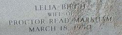 Lelia <I>Birch</I> Markham